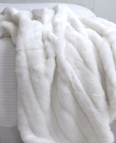 White mink faux fur throw bedroom ideas pinterest for White fur bedroom