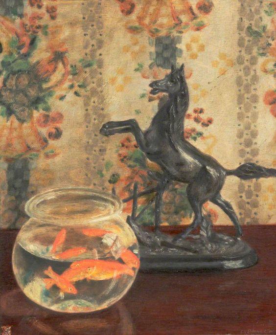 Goldfish and Horse - B.R. Swinnerton