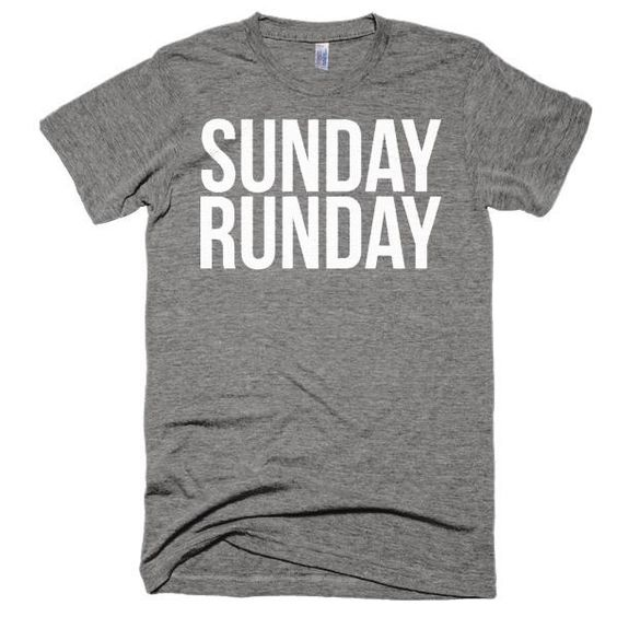 Sunday Runday - Unisex