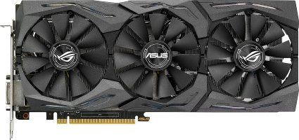 #7: Asus Strix Gaming Carte graphique Nvidia GeForce GTX 1070 8192 Mo PCI…