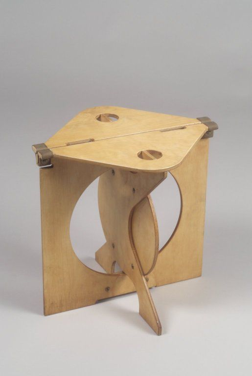 Barry Simpson Rooster Folding Stool Designed 1975 1976