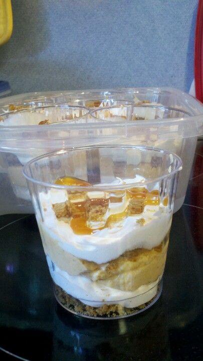 Pumpkin Trifle- travel friendly servings