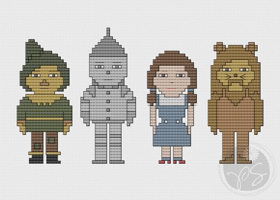 Looking for your next project? You're going to love The Wizard of Oz by designer PixyStitches.