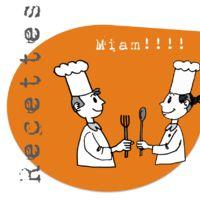 32  recettes de cuisine pour la classe.  Ces recettes donnent envie d'être réalisées et mangées!!!