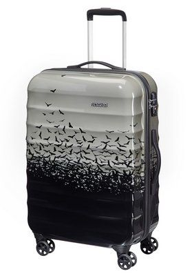 American Tourister Hartschalen-Trolley