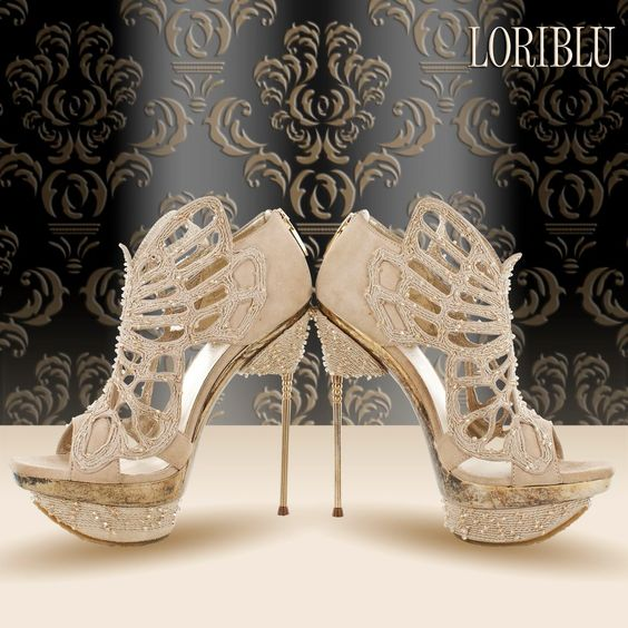 Loriblue Bridal shoes - Spring 2012