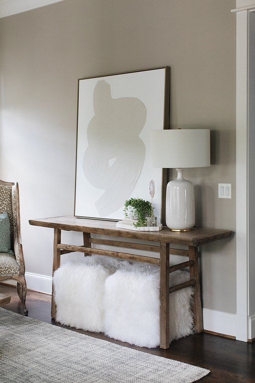 Greige Is The Neutral Palette Du Jour And These Living Room Color Ideas Prove It Hunker Colors Wall