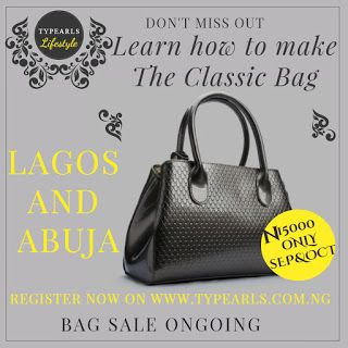 Bags shoes and accessories making class for Lagos and Abuja residents (2016 edition)  In 2 weeks you can join the league of  professional  creative bag makers and shoe masters. This is the 9th month of the year less than three months to go and you are yet to acquire a skill or develop a passion. No more time to waste act on your desires now.  If you love crafts cloth working with leather fashion beauty thread uniqueness this is your chance to turn your dreams to reality. Join me and a host…