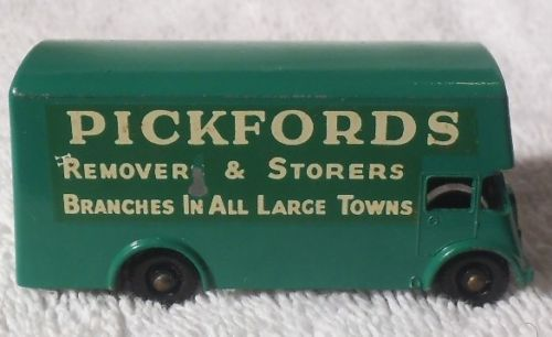 VINTAGE MATCHBOX LESNEY DIECAST TRUCK FROM ENGLAND Pickfords removers  storers…