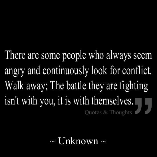 Quotes About Angry People: There Are Some People Who Always Seem Angry And