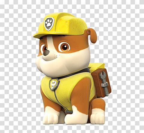 Paw Patrol Character Paw Patrol Rubble Transparent Background Png Clipart Rubble Paw Patrol Paw Patrol Characters Paw Patrol