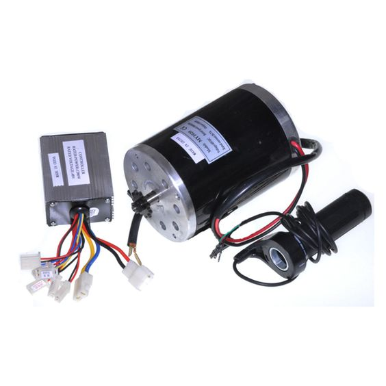 Electric Motor Project Kit: 48 Volt 1000 Watt Motor, Controller, & Throttle Kit
