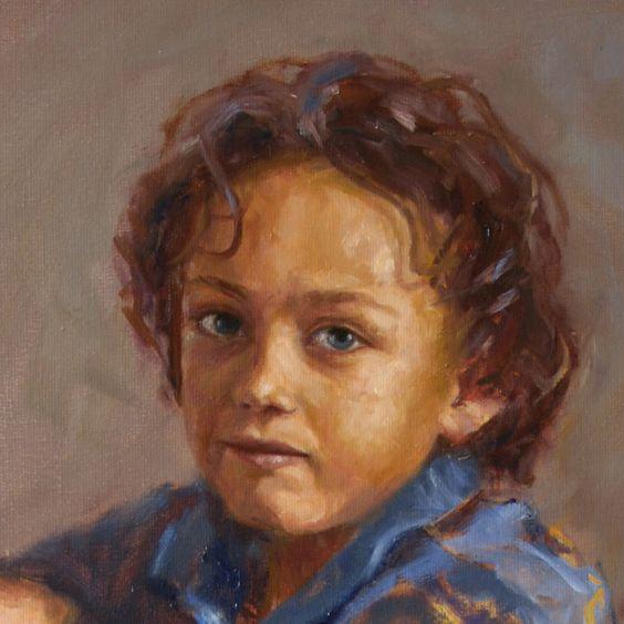 Mieke Robben. Portret in opdracht Jasper Een portret in opdracht kan voor verschillende gelegenheden gemaakt worden. Als verrassing voor een speciale gelegenheid of als aandenken aan een bijzonder persoon.