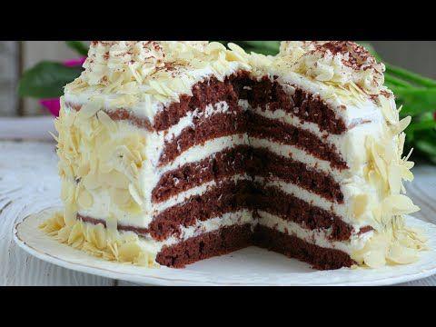 30 Deqiqeye Sobasiz Miksersiz Tavada Bisen Tort Resepti Youtube Pastalar Yemek Tarifleri Pasta Tarifleri