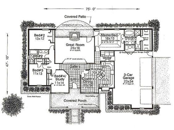 Plan 002H-0013 - Find Unique House Plans, Home Plans and Floor Plans at TheHousePlanShop.com