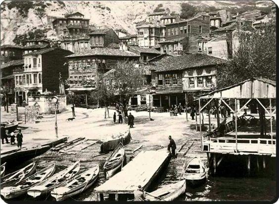 Sariyer/ Yenimahalle iskelesi 1900 ler