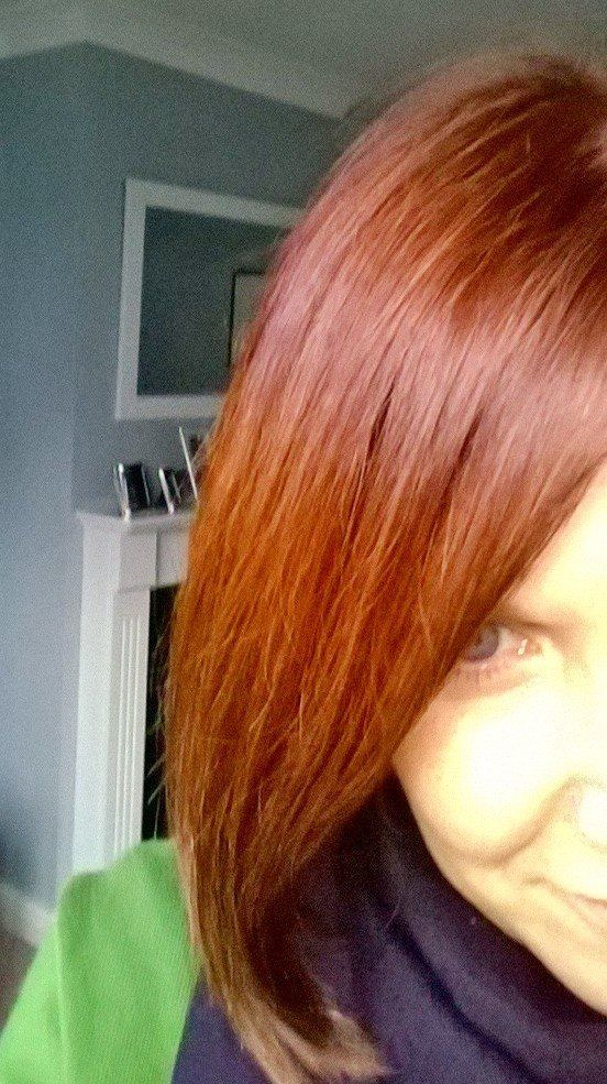 Amazing hair colour change. Very happy