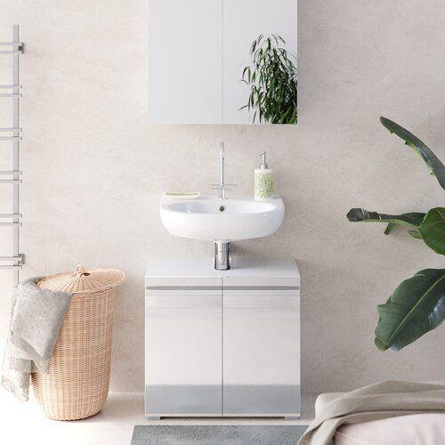 56 X 60 Cm Badschrank Munire Ebern Designs In 2020 Vanity