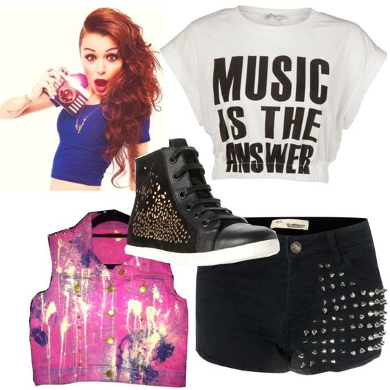 """""""Cher Llyod inspired"""" by emilyclaire0807 ❤ liked on Polyvore"""