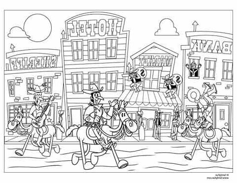 Frontier Coloring Pages
