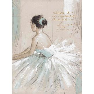 Found it at Wayfair - Yosemite Home Decor New Revealed Art Prima Ballerina Original Painting on Canvashttp://www.wayfair.com/Yosemite-Home-Decor-New-Revealed-Art-Prima-Ballerina-Original-Painting-on-Canvas-YE110402A-YHD1933.html?refid=SBP