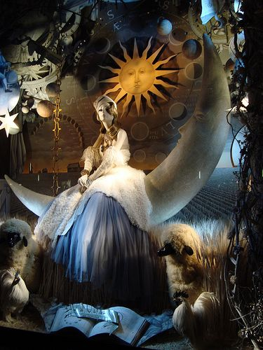 Bergdorf Goodman Window (Autumn)... by ardenttie, via Flickr