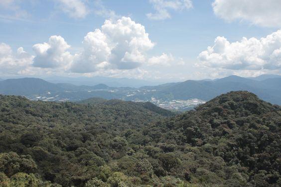 Vistas desde Gunau Brinchang