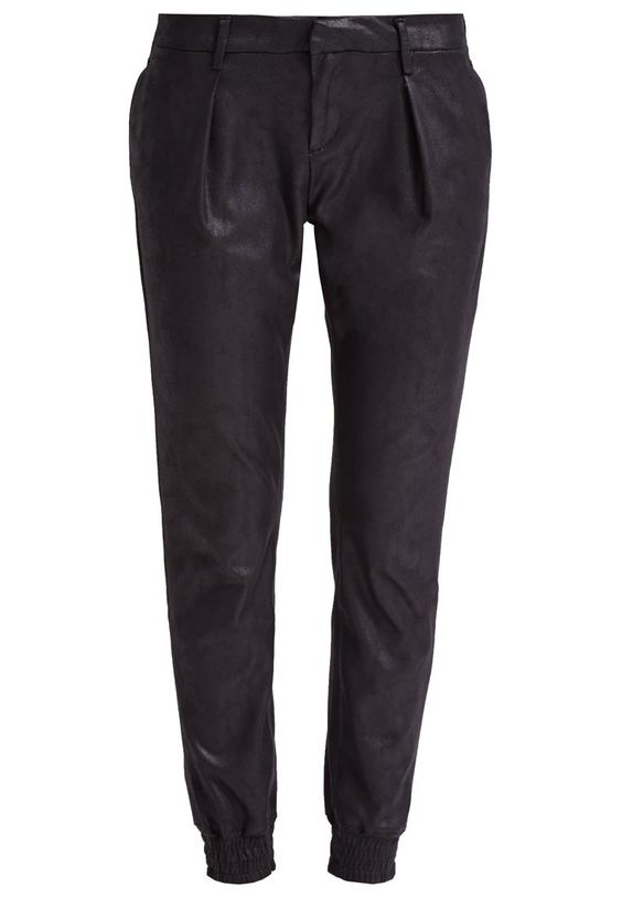 7 for all mankind - THE JOGGER - Stoffhose - black