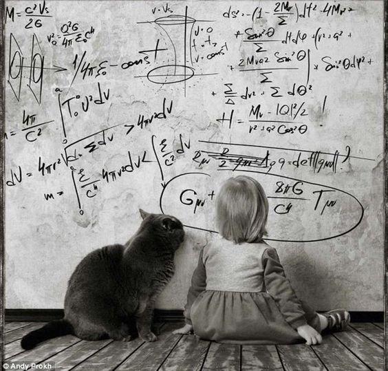 En fotos: ¡Que tierno! Hermosas imágenes describen la amistad entre una niña y su gato