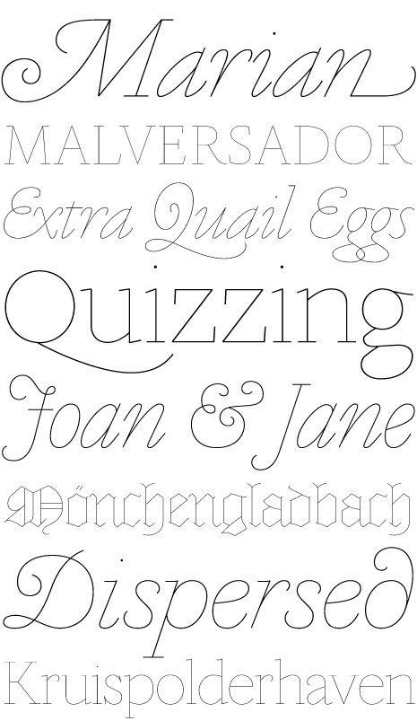 Marian Typeface