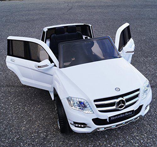 New 2015 licensed mercedes benz glk 300 amg 12v kids ride for Mercedes benz power wheels car