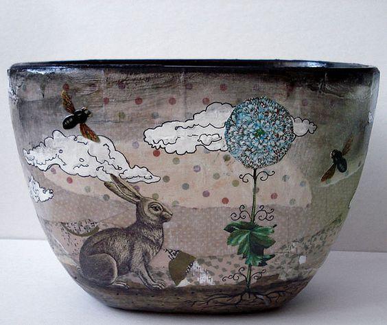The Rabbit Vase (Side 2)   by sarahogren