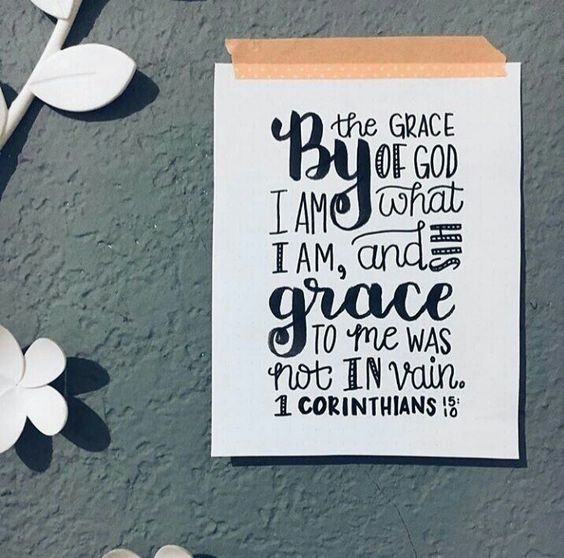 (1 Corinthians 15:10)