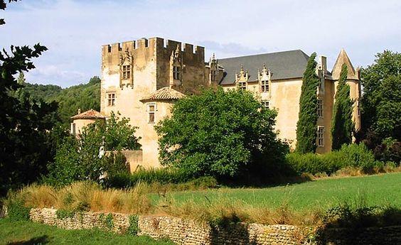 château d'Allemagne en Provence