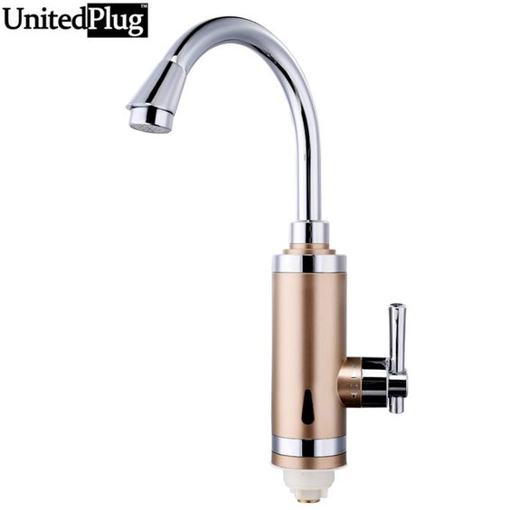 Unitedplug aquecedor 3 aquecedor de água instantâneo elétrico de aquecimento de água de torneira de água torneira de aquecimento S3