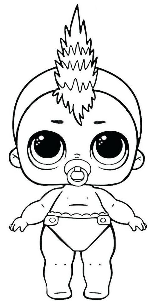 Lol Dolls Coloring Pages Best Coloring Pages For Kids Lol Dolls Cute Coloring Pages Coloring Pages