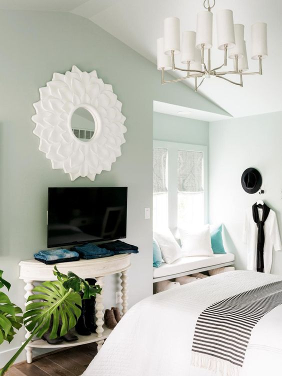 Master Bedroom Pictures From Hgtv Urban Oasis 2016 Tables Urban And Space Saving