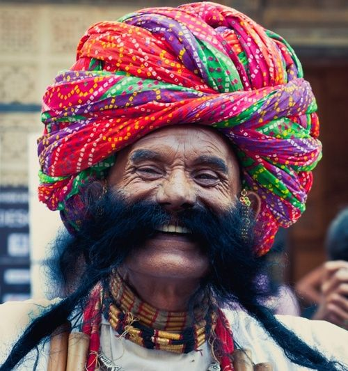 Rajasthan India has mustache competitions but the now generation is pretty much clean shaven. FUN