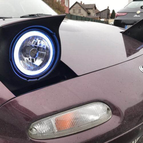 This Led Halo Ring Kit Includes 2 Headlamps Which Replace Both
