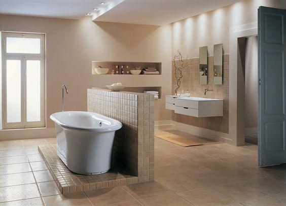 Travertin Vloer Badkamer : China badkamer travertijn beige stenen tegels voor vloer en wand