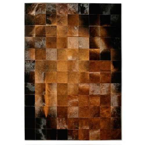 New Large Cowhide Rug Patchwork Cowskin Cow Hide Leather Carpet Brown Unbranded Patchwork Cowhide Rug Patchwork Cowhide Cow Hide Rug