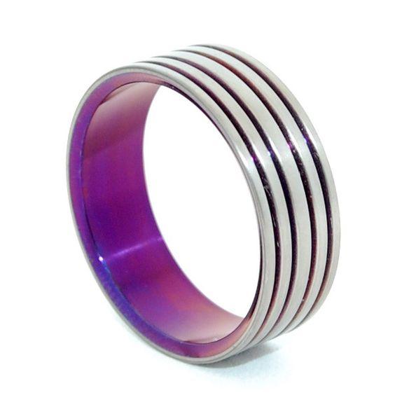 Minter + Richter | Unique Wedding Rings - Many Paths | Titanium Rings | Minter + Richter