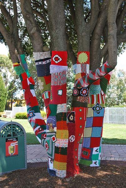 Urban Knitting Graffiti : Yarn bombing cannycraftz pinterest