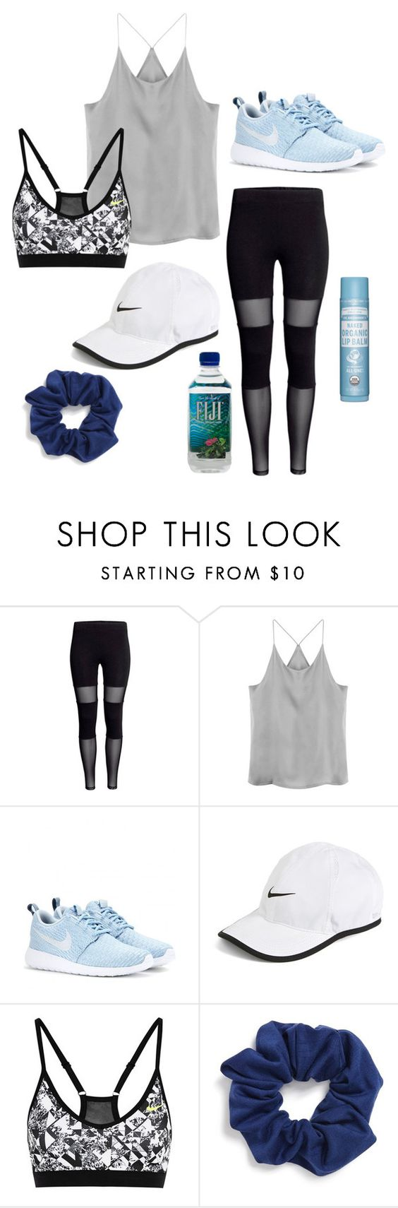 """""""workout outfit"""" by faithbrownn ❤ liked on Polyvore featuring NIKE and Natasha Couture"""