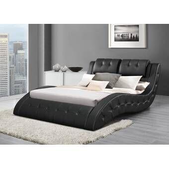 Flexible Storage Platform Bed Bed Upholstered Sleigh Bed