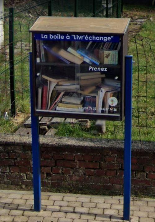 Boîte à livres Jurbise