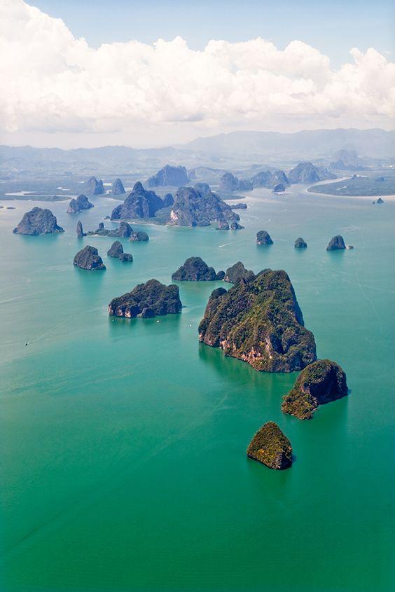 ao phang nga, thailand.