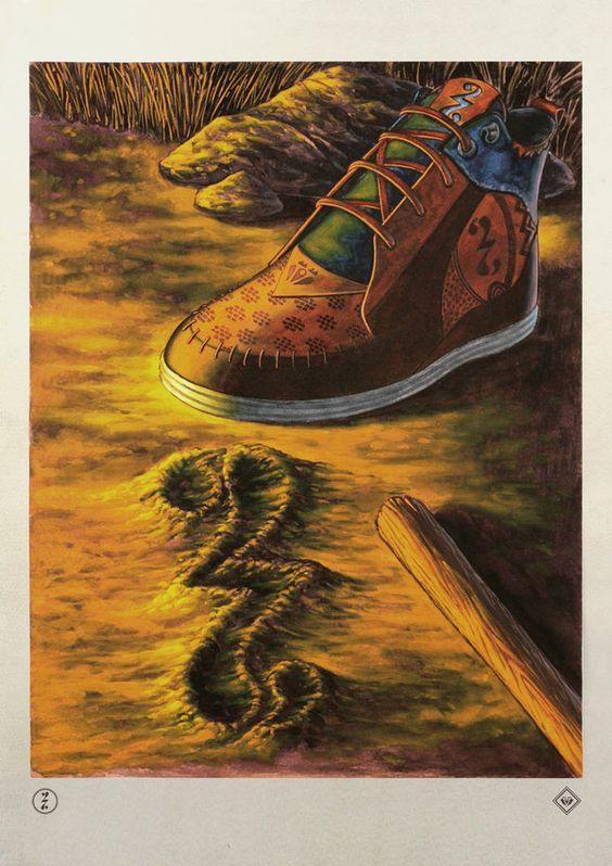 Product Campaign By: Society27  X Valistika. El tiempo pasa y la humanidad crea a través del camino...