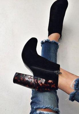 Top Velvet Suede Boots
