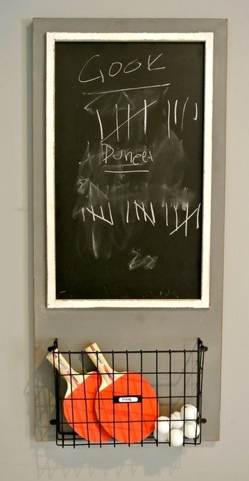 Table Tennis Room Design: Ping Pong Score Board